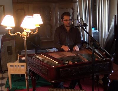 "Mihai Trestian, Cymbalum (Enregistrement des albums ""La Barque ailée et l'Albatros"""