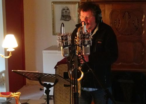 """Bernard Le Dréau, saxophone (Enregistrement des albums """"La Barque ailée et l'Albatros"""")"""
