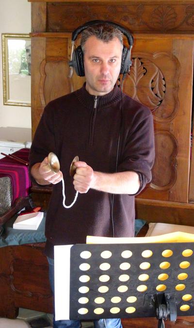 "Gurvan Mével (Enregistrement des albums ""La Barque ailée et l'Albatros"")"