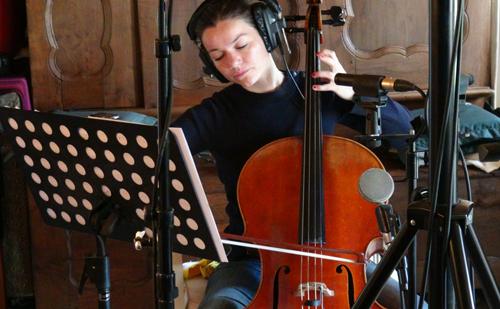 """Mathilde Chevrel (Enregistrement des albums """"La Barque ailée et l'Albatros"""")"""