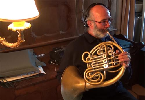 """Philippe Durand, Cor (Enregistrement des albums """"La Barque ailée et l'Albatros"""")"""