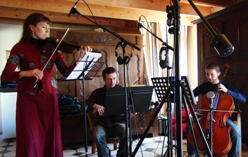 """Trio (Enregistrement des albums """"La Barque ailée et l'Albatros"""")"""