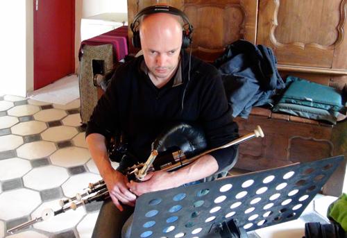 """Loïc Bléjean, Uilleann pipes (Enregistrement des albums """"La Barque ailée et l'Albatros"""")"""