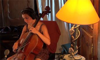 """Mathilde Chevrel, cordes orchestrales (Enregistrement des albums """"La Barque ailée et l'Albatros"""")"""