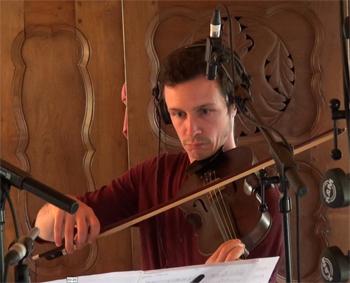 """Jonathan Dour, cordes orchestrales (Enregistrement des albums """"La Barque ailée et l'Albatros"""")"""