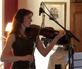 """Shane Lestideau, cordes orchestrales (Enregistrement des albums """"La Barque ailée et l'Albatros"""")"""