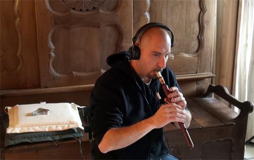 """Cyrille Bonneau, Duduk (Enregistrement des albums """"La Barque ailée et l'Albatros"""")"""