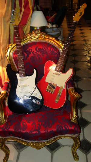 """Guitares (Enregistrement des albums """"La Barque ailée et l'Albatros"""")"""