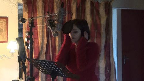 """Stefanie Théobald (Enregistrement des albums """"La Barque ailée et l'Albatros"""")"""